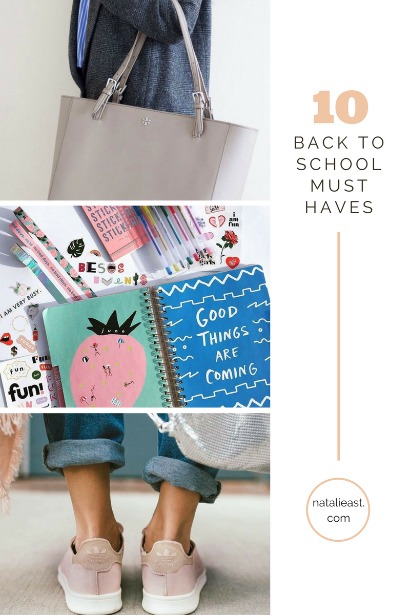 10 Must-haves for Back to school