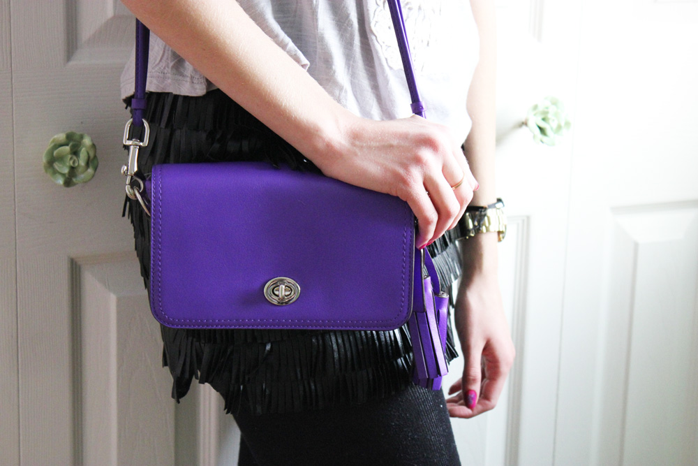 Coach Legacy in Ultraviolet Review