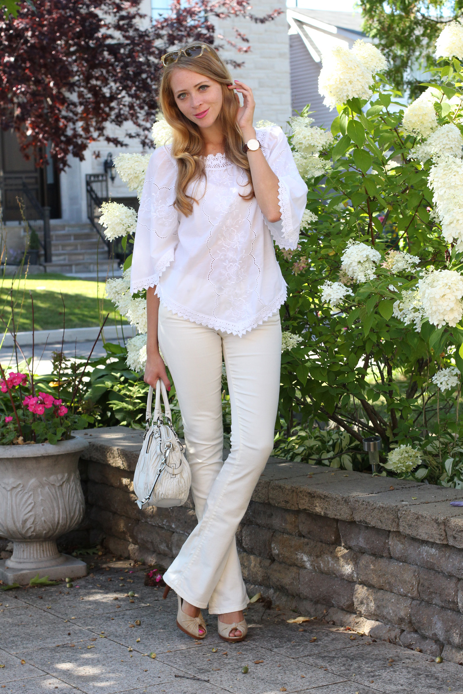 all white labor day outfit