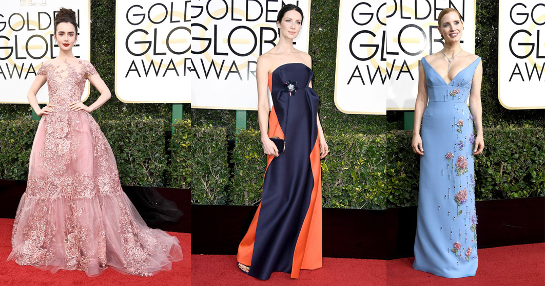 Best and Worst Dressed Golden Globes 2017 Red Carpet