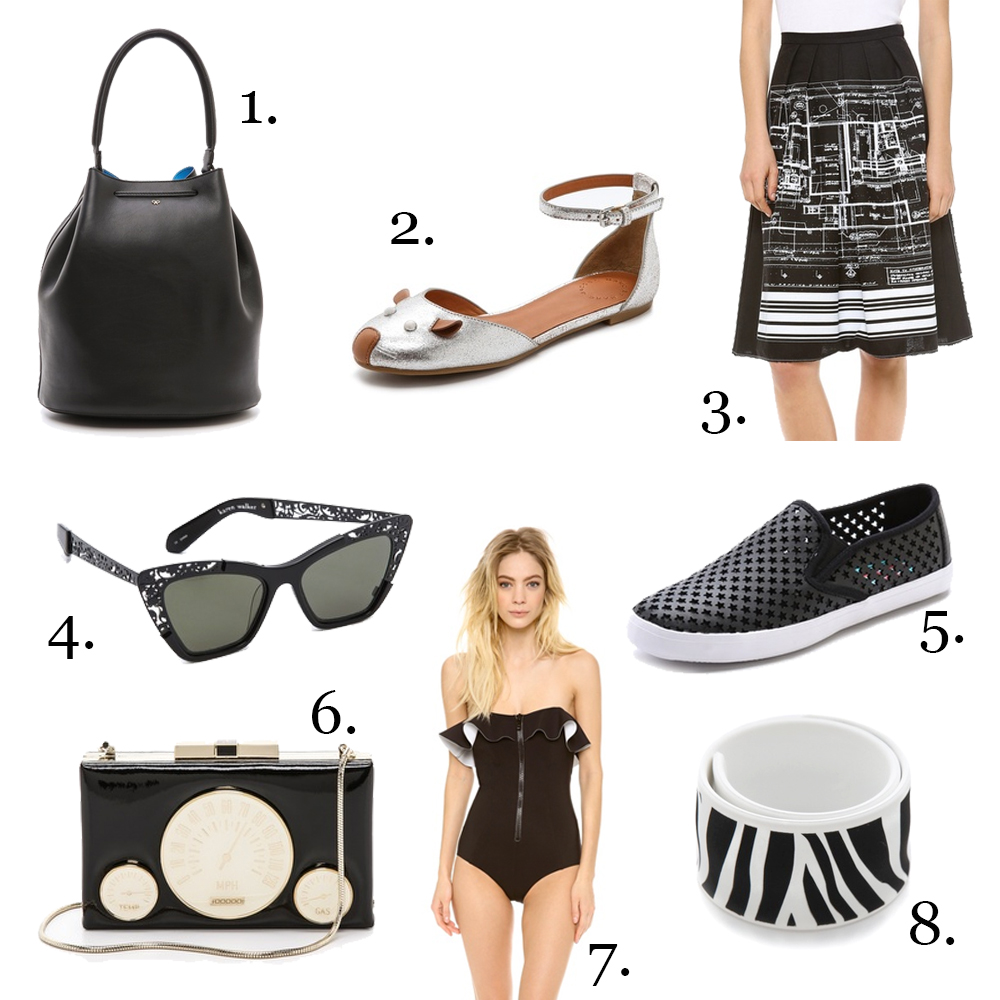 Shopbop Friends & Family Sale: Graphic black and white
