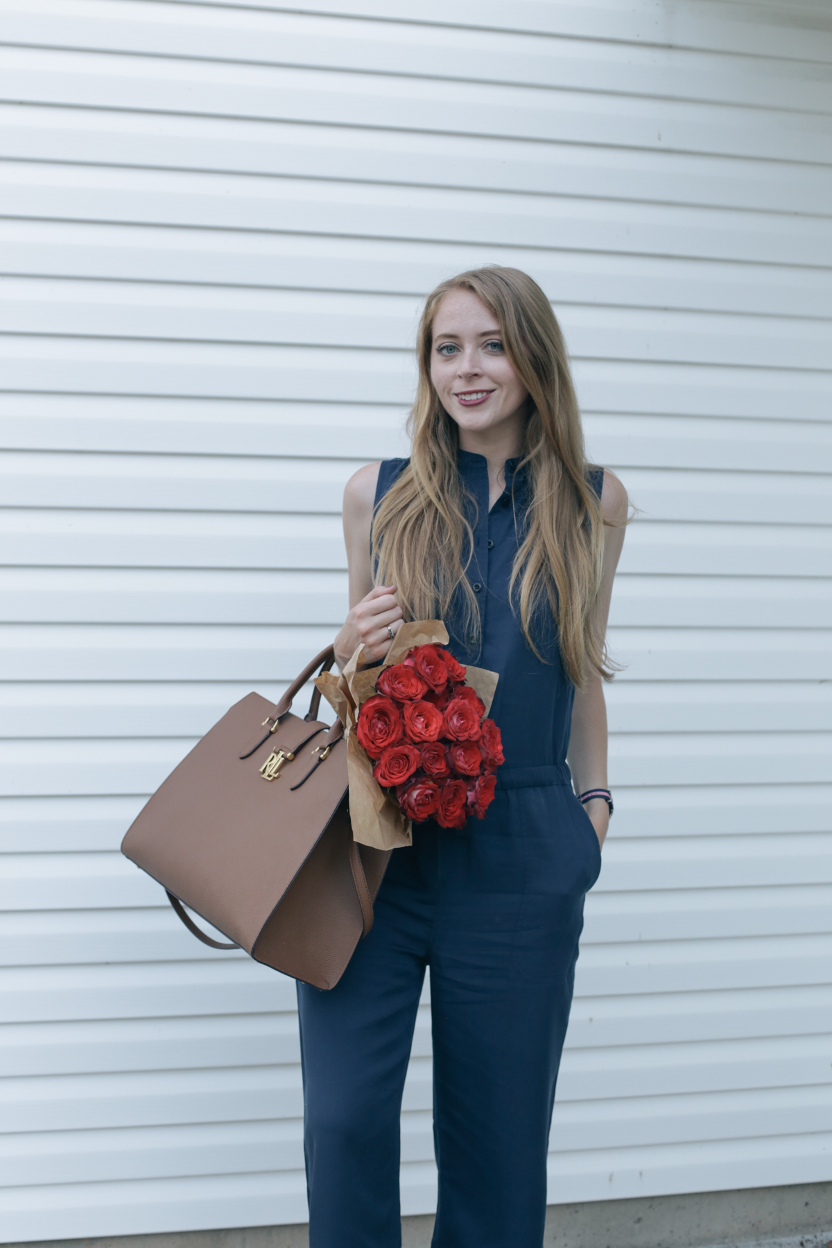 casual office outfit jumpsuit (5 of 5)