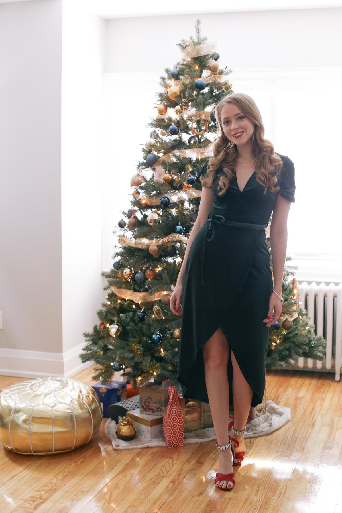 Christmas Eve outfit idea