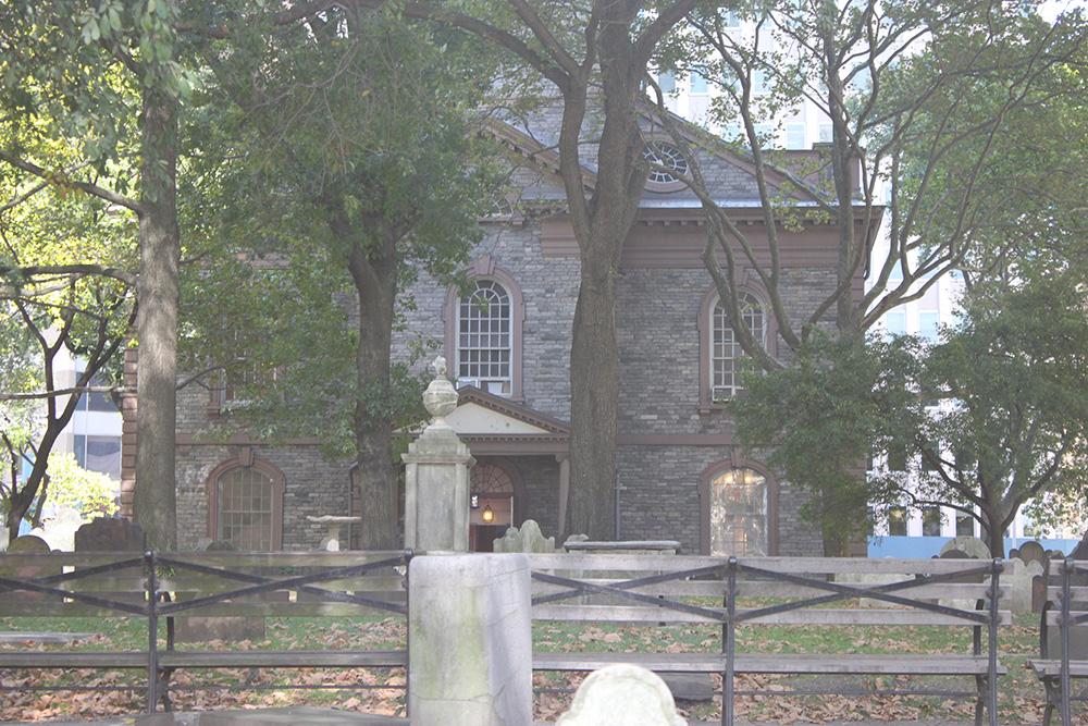 church near 911