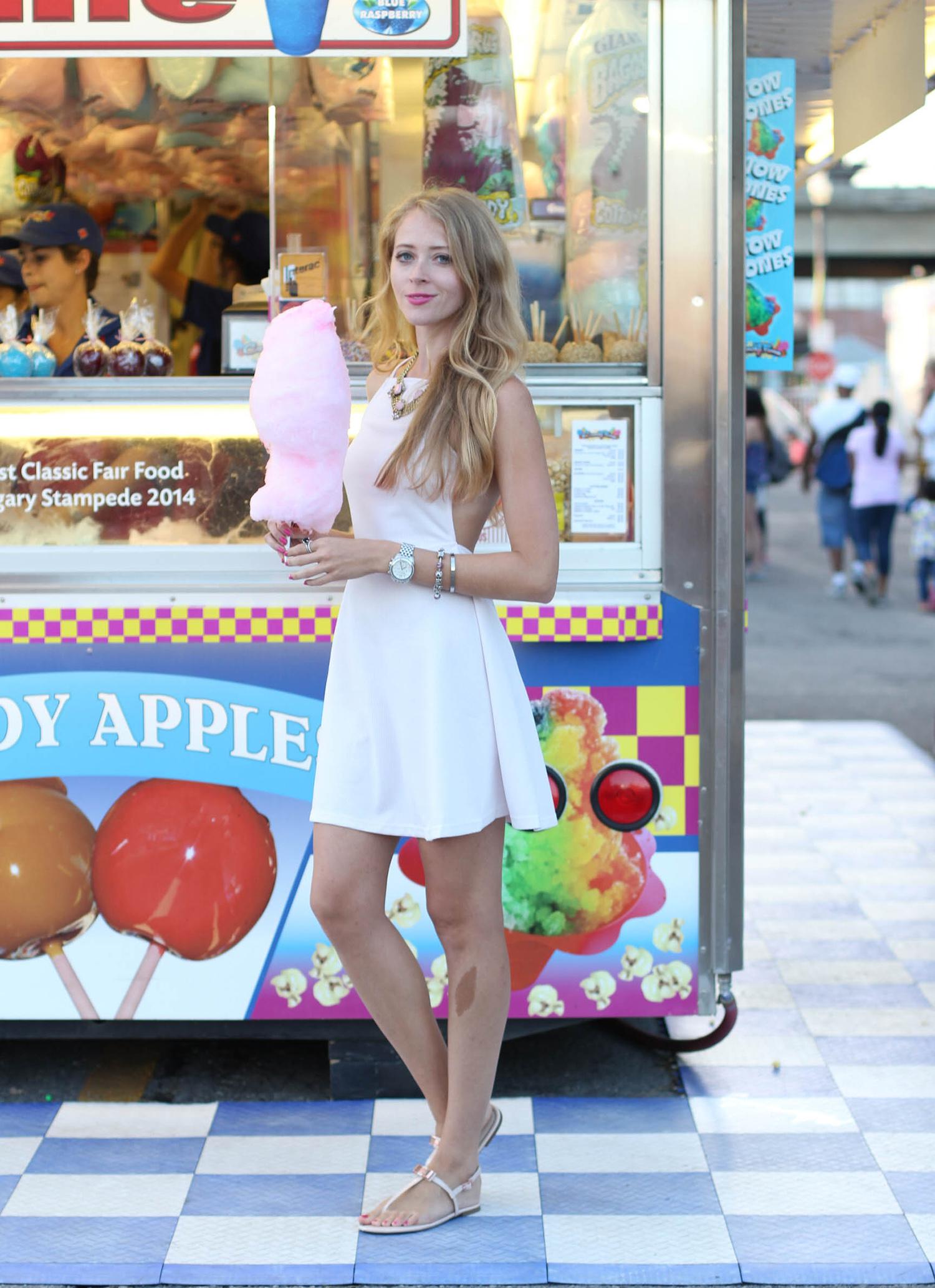 cotton candy pink dress cne