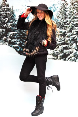 Vote for Nataliastyle to be the face of Cougar Boots