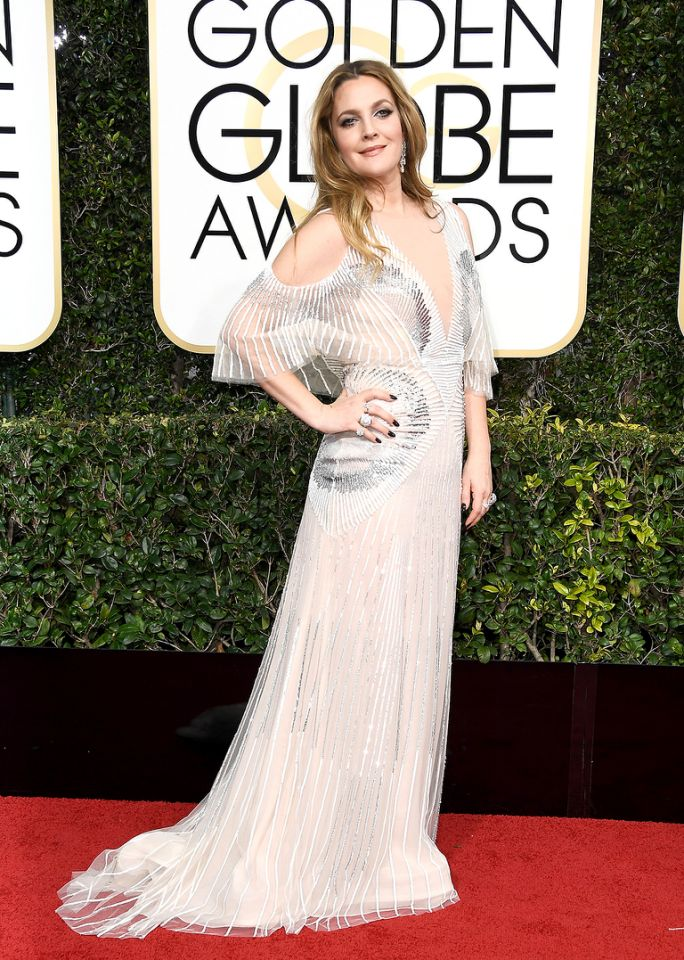 drew-barrymore-golden-globes-2017