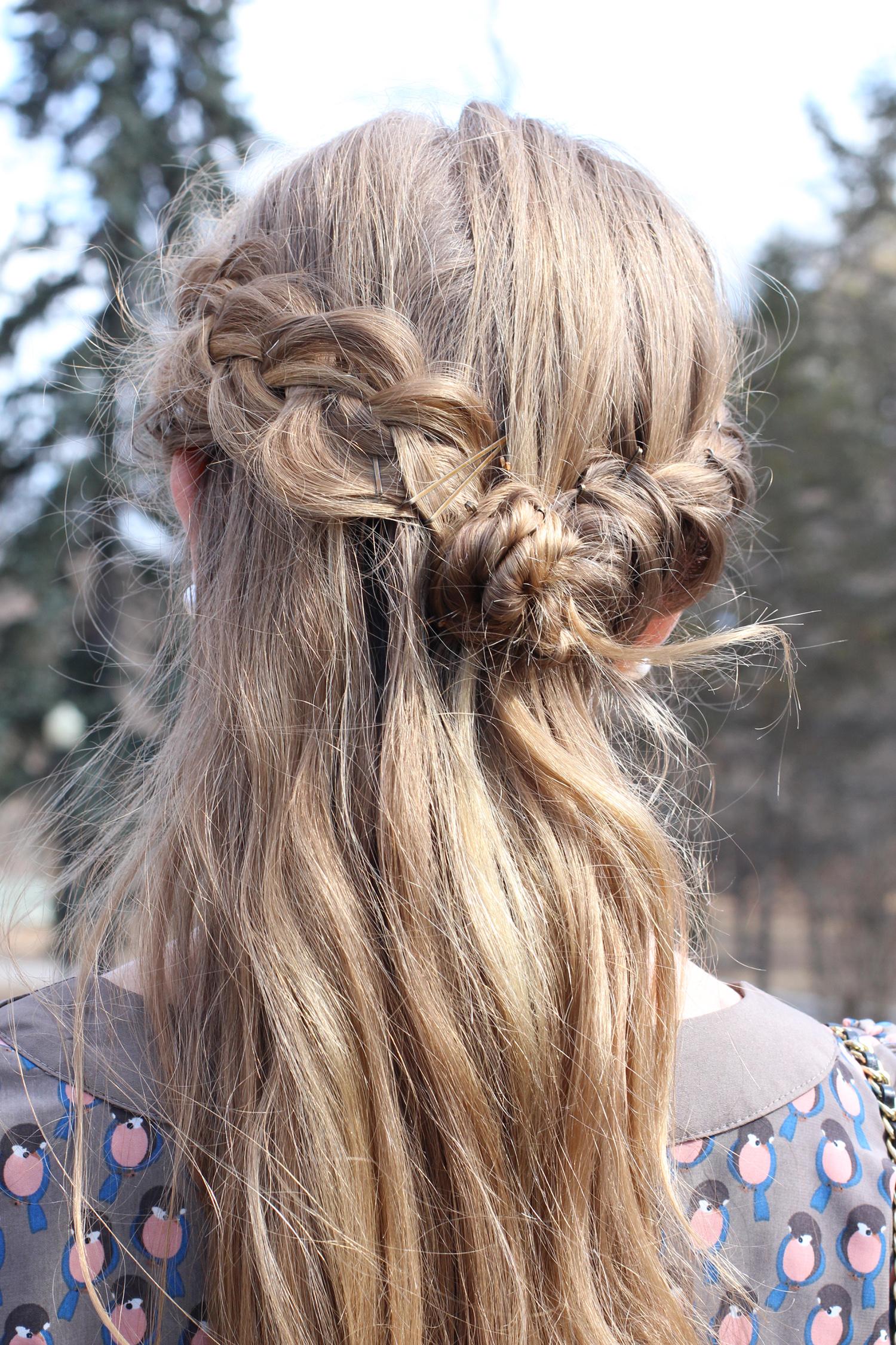 dutch braid crown hairstyle