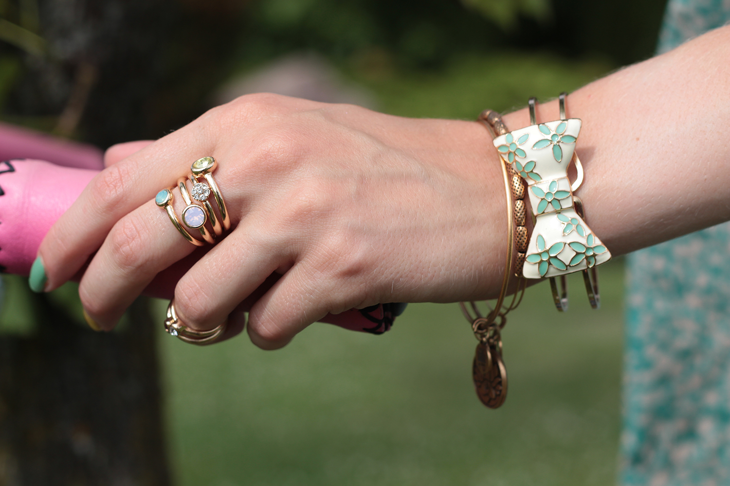 forever 21 gold stacking rings alex and ani