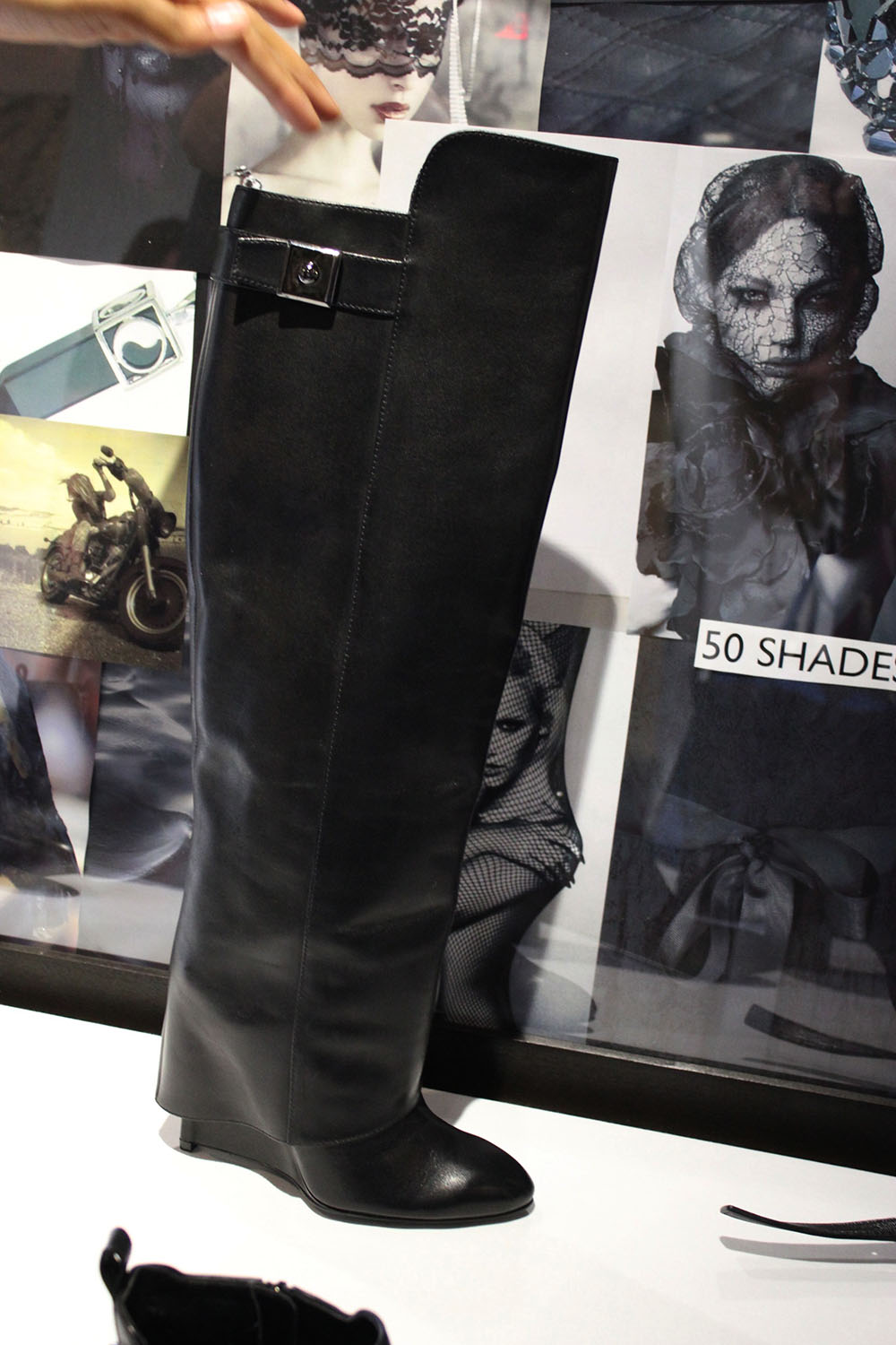 givenchy inspired boot