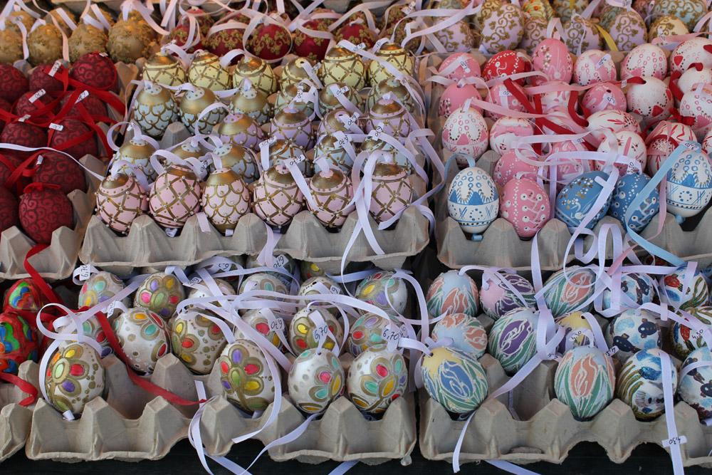 handpainted easter egg designs