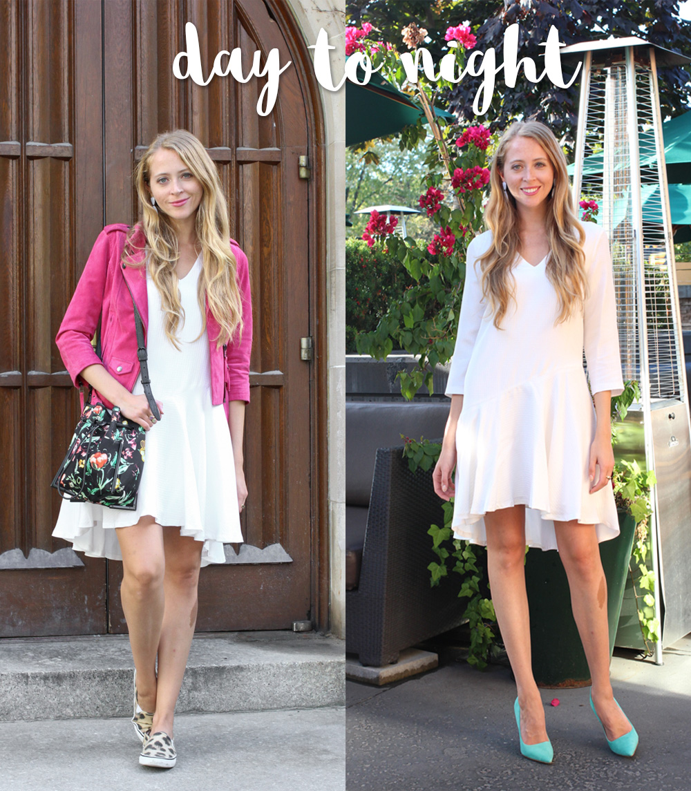 White dress from day to night