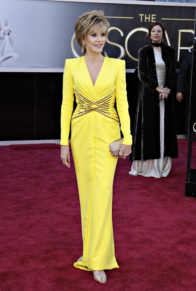 Jane Fonda 2013 oscars