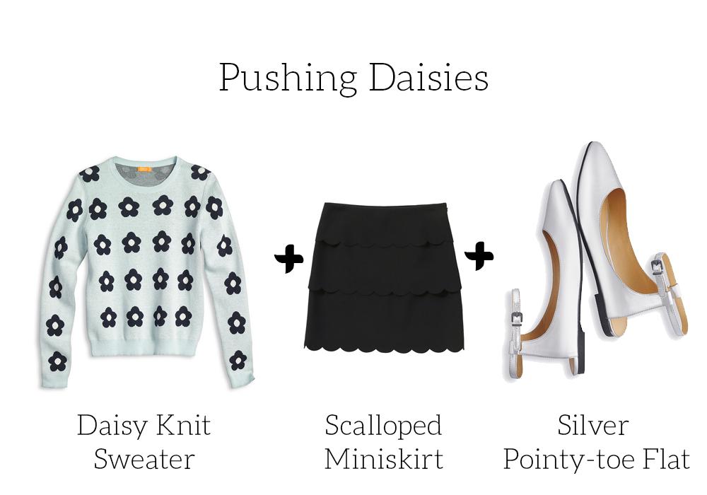 joe fresh spring 2014 daisy sweater skirt