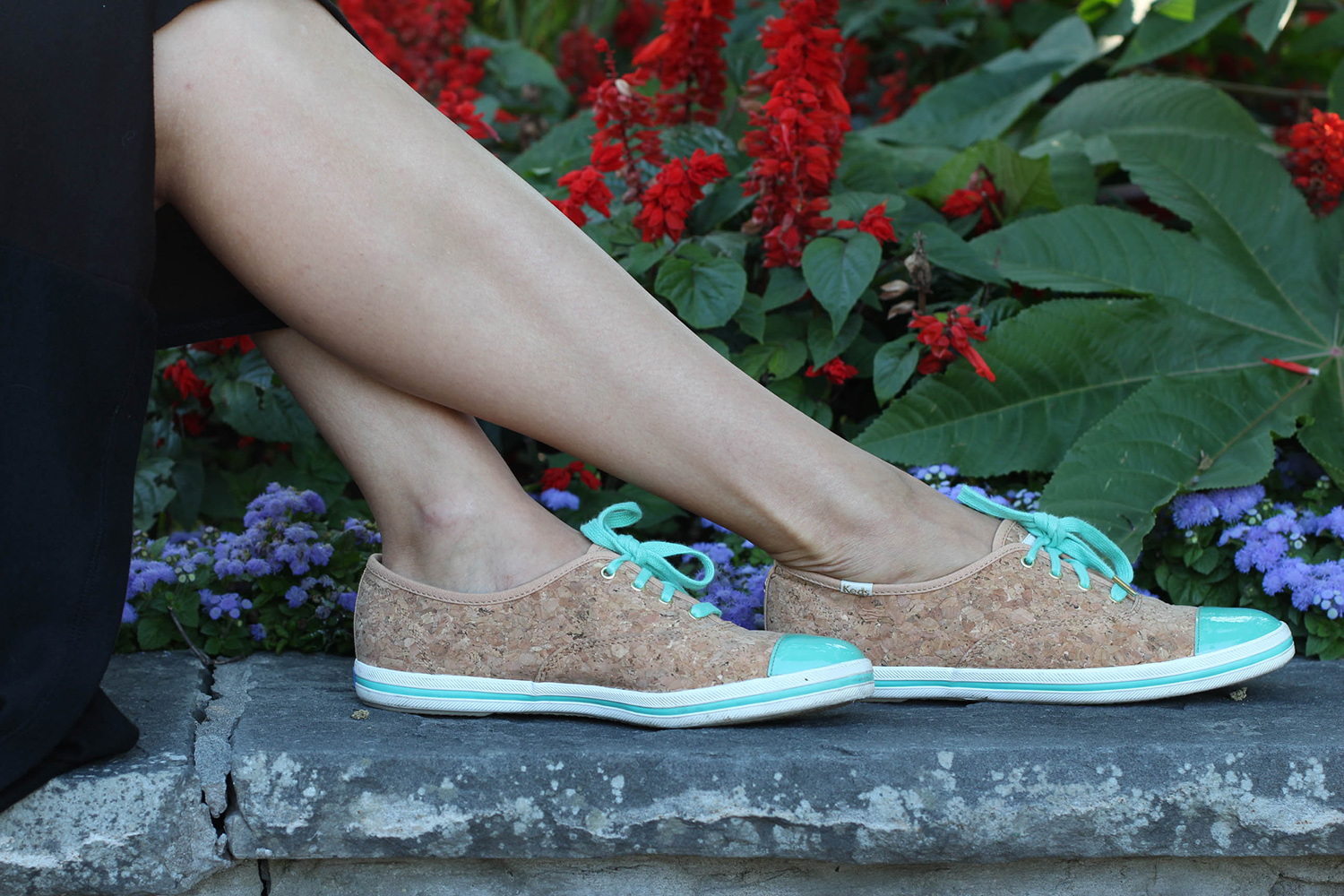 kate spade for keds champion cork sneaker