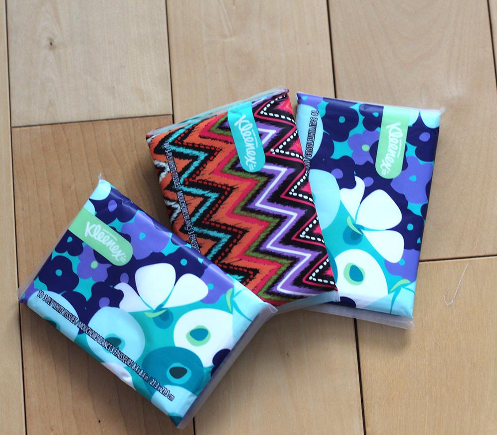 kleenex pocket packs
