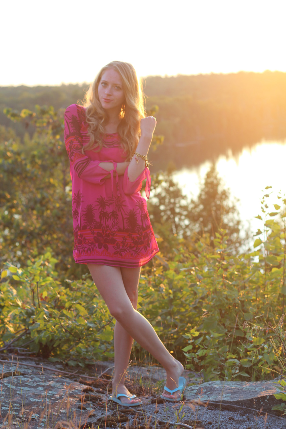 la luna dress roxy