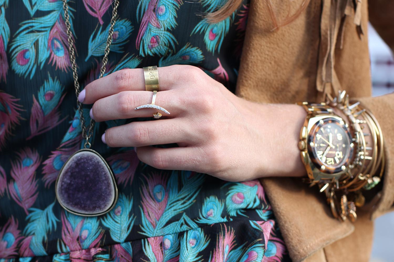 layered bohemian jewelry