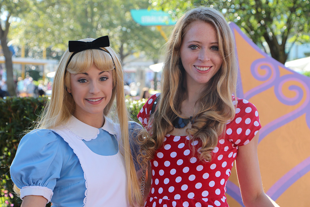 me and alice in wonderland