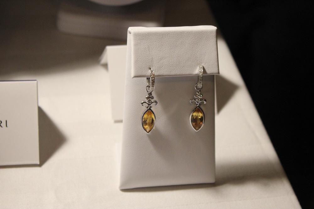 mejuri citrine earrings