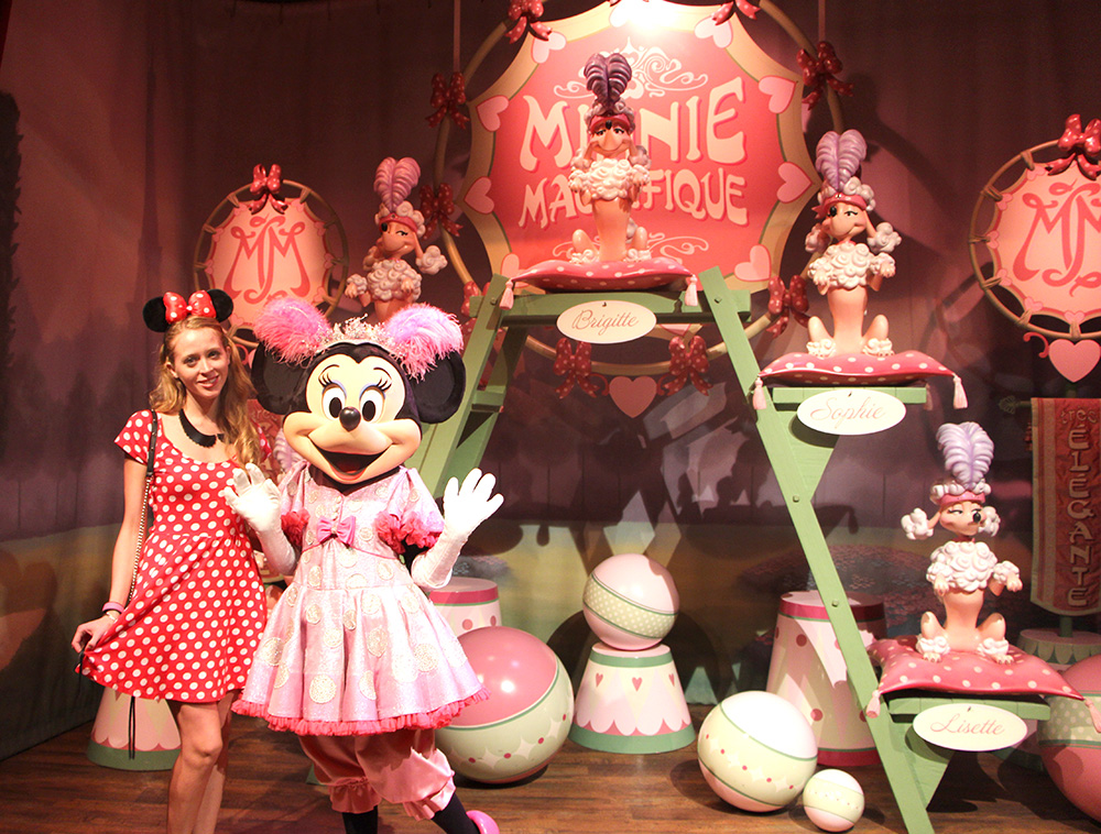minnie mouse magic kingdom