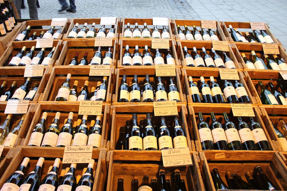 munich marienplatz wine market