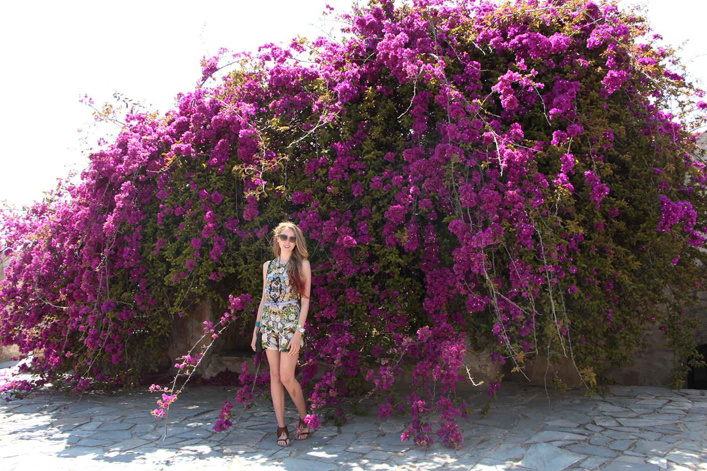 nafplio greece azaleas zara floral romper