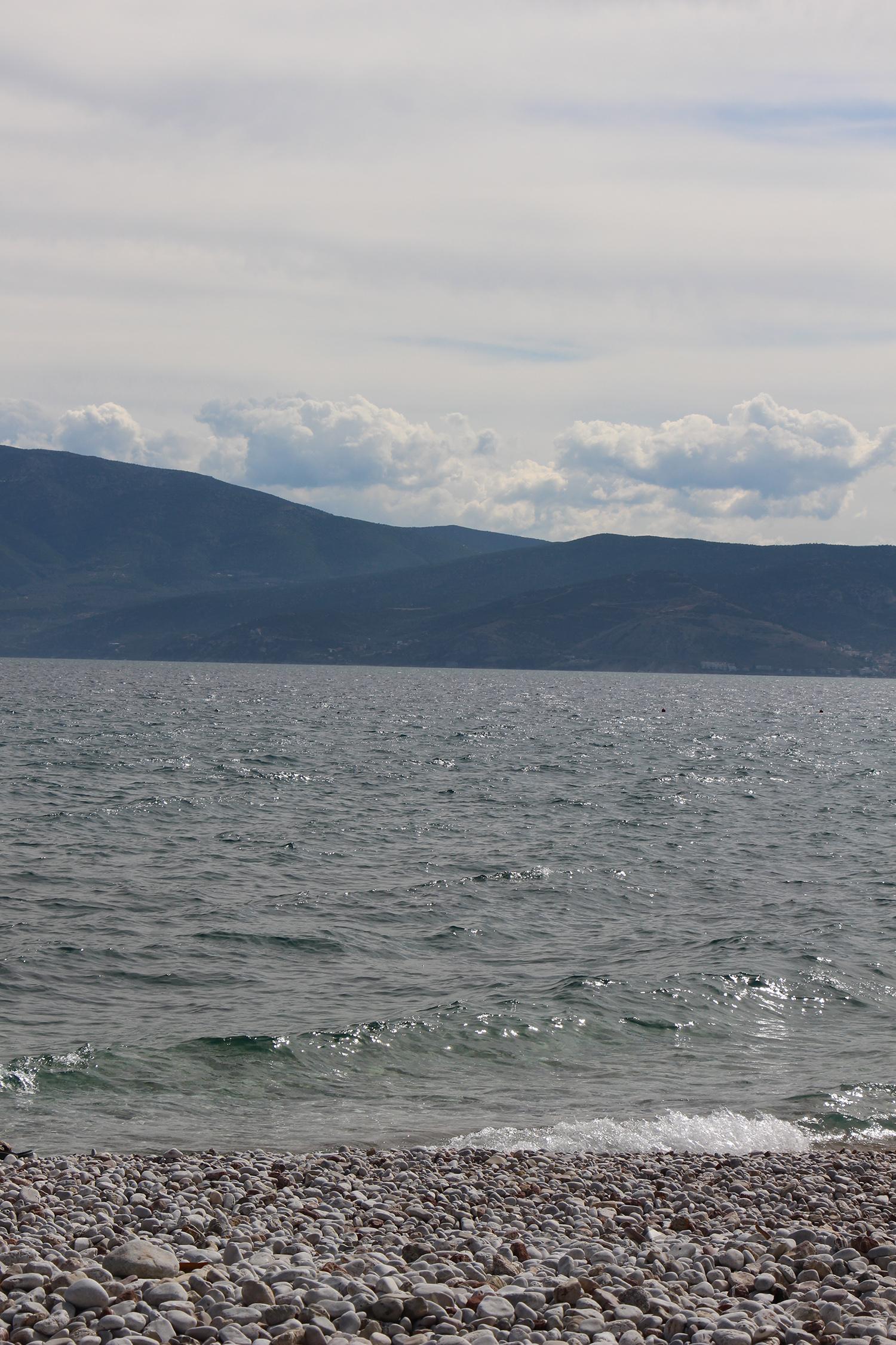 nafplio greece beaches arvanatia rocky