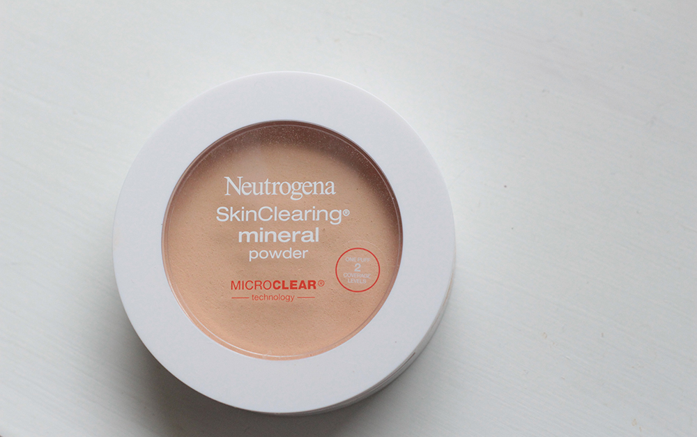 neutrogena skin clearing mineral powder #10