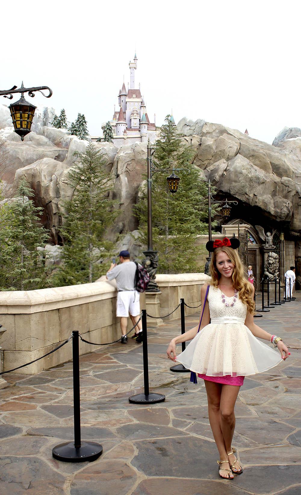new disney world fantasy land belle