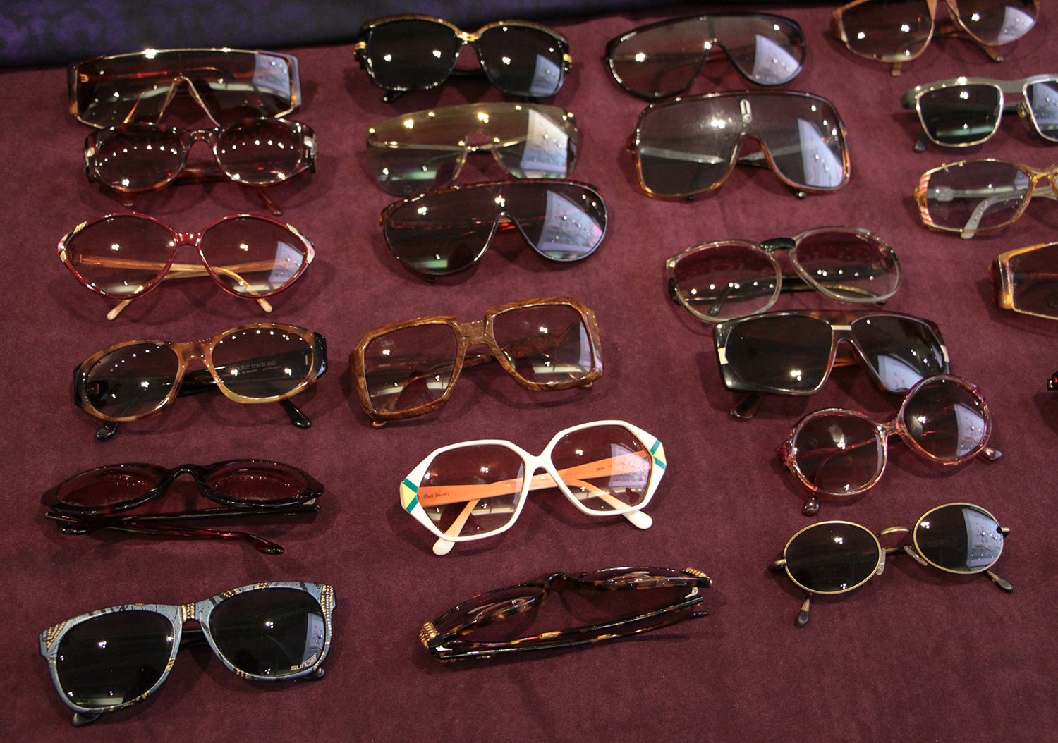 of king's past vintage sunglasses