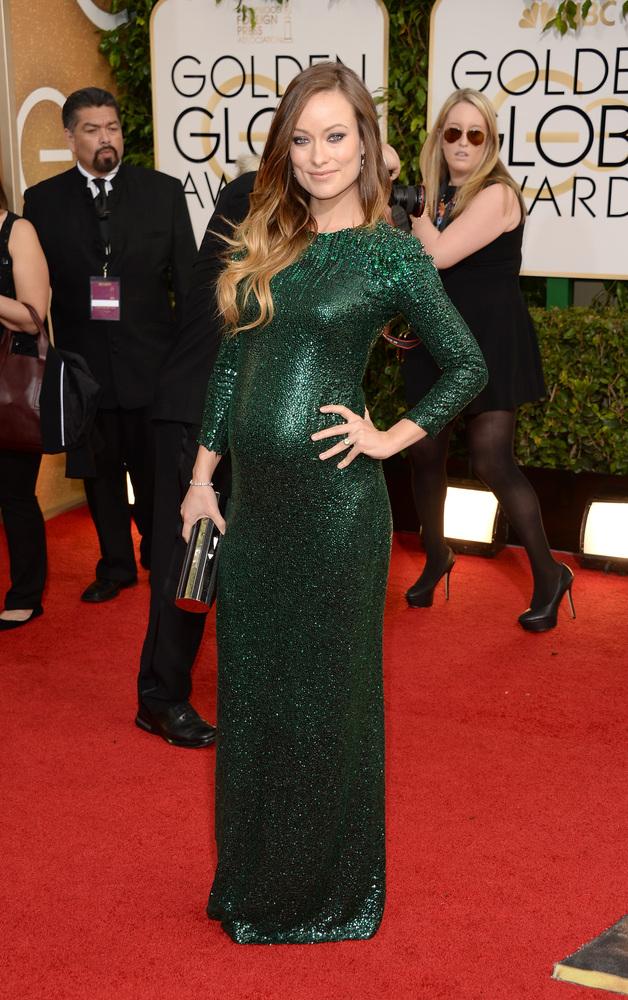 olivia wilde pregnant gucci