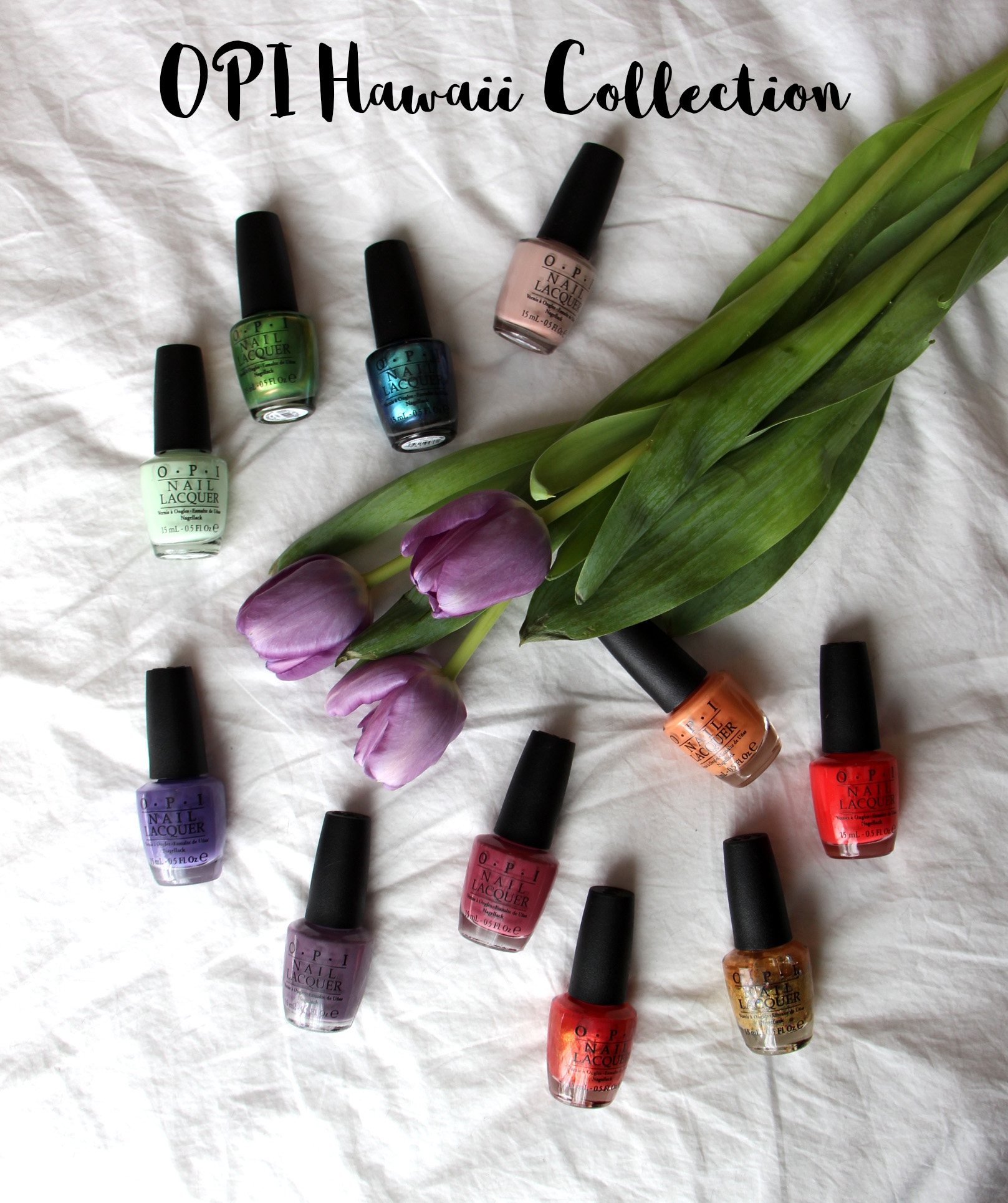 OPI Hawaii Collection Review