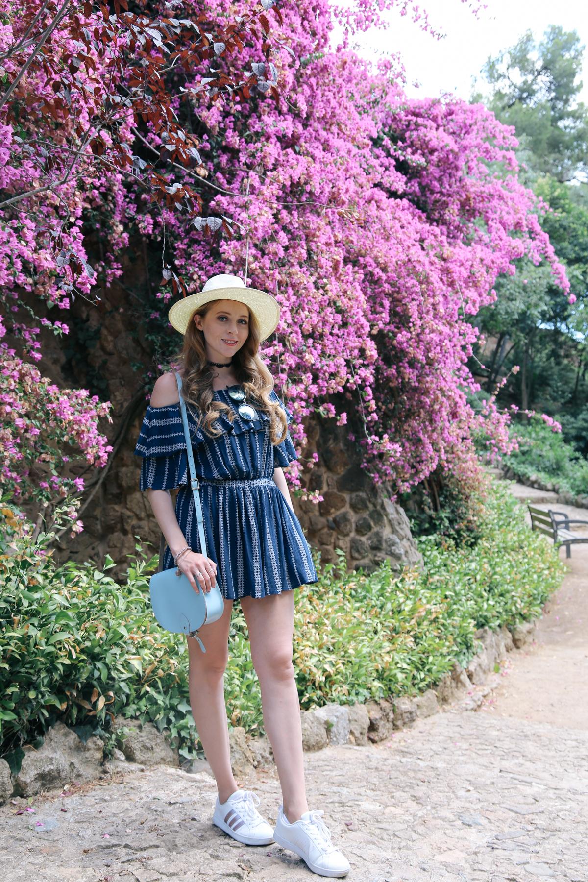 barcelona gardens flowers visit