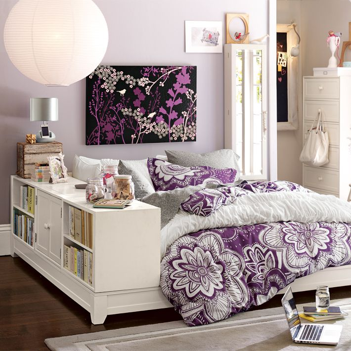 pb teen ultimate bookcase bed