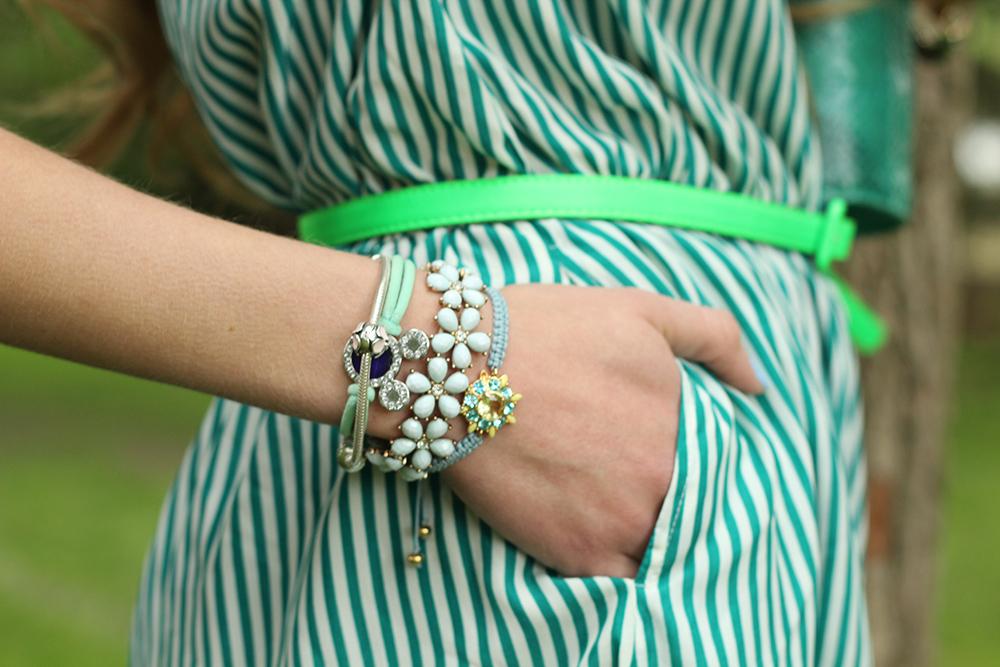 peppermint dress pocket jewelry