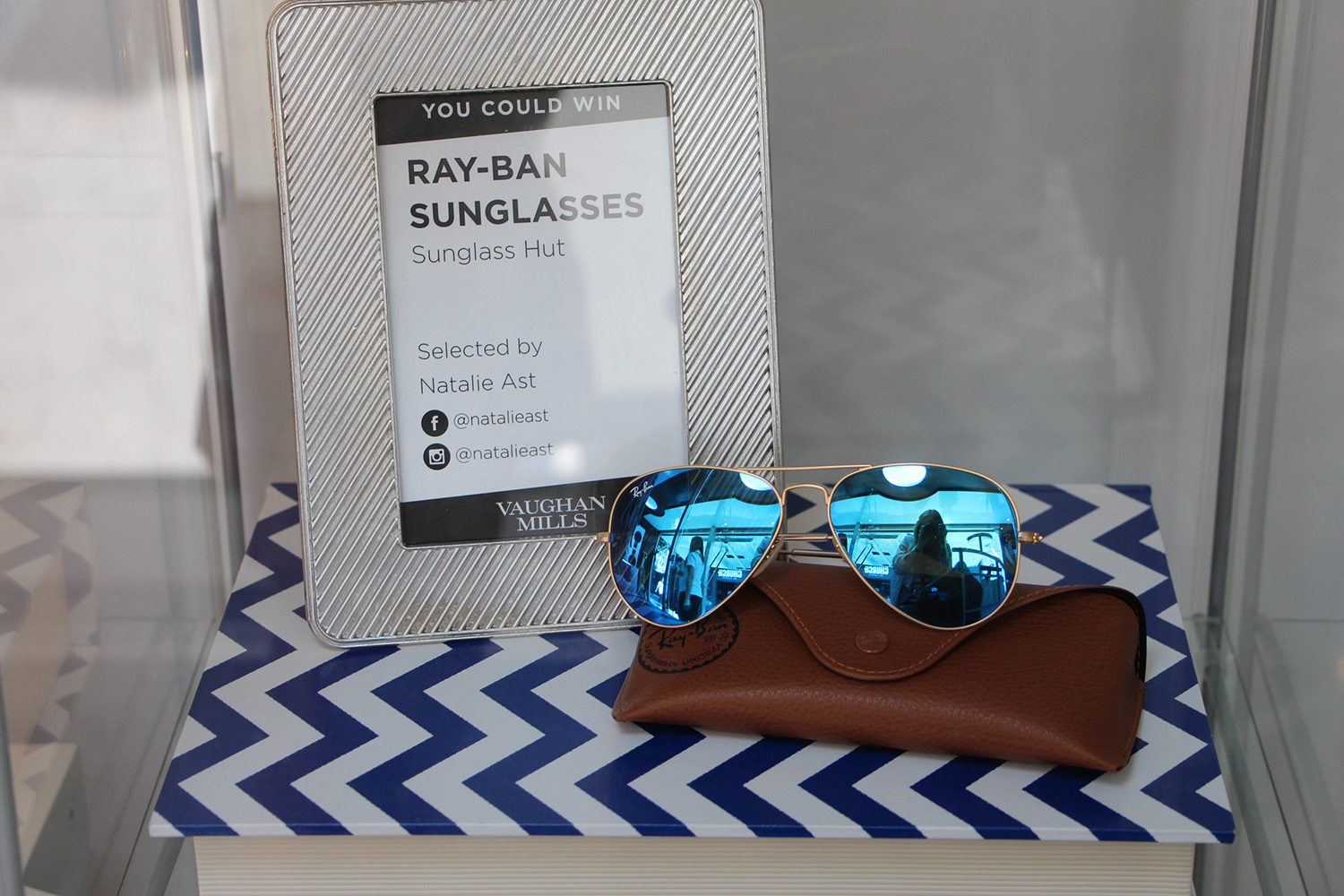 ray ban flash aviators giveaway