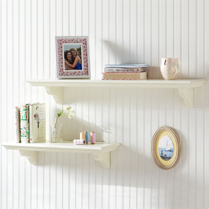 small space wall shelving
