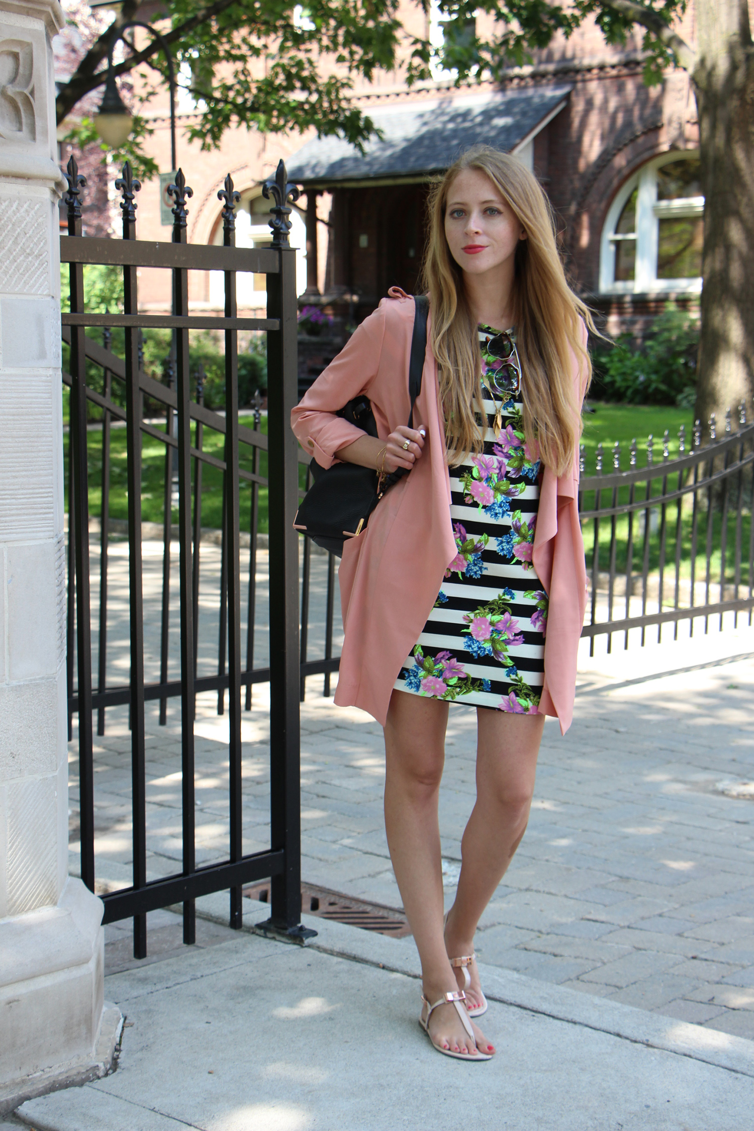 Waterfall Trench Coat in Summer