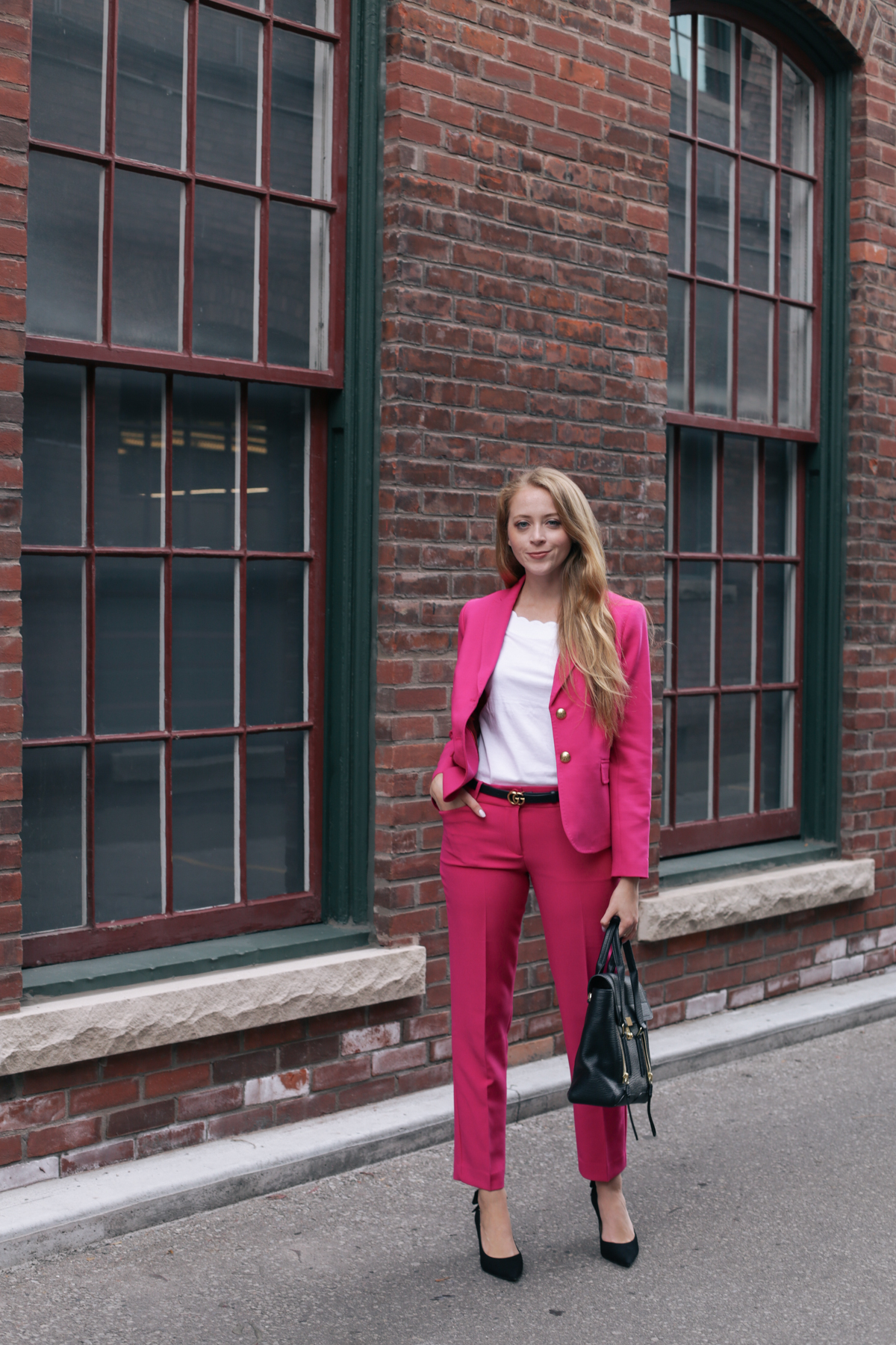 talbots pink suit (2 of 10)