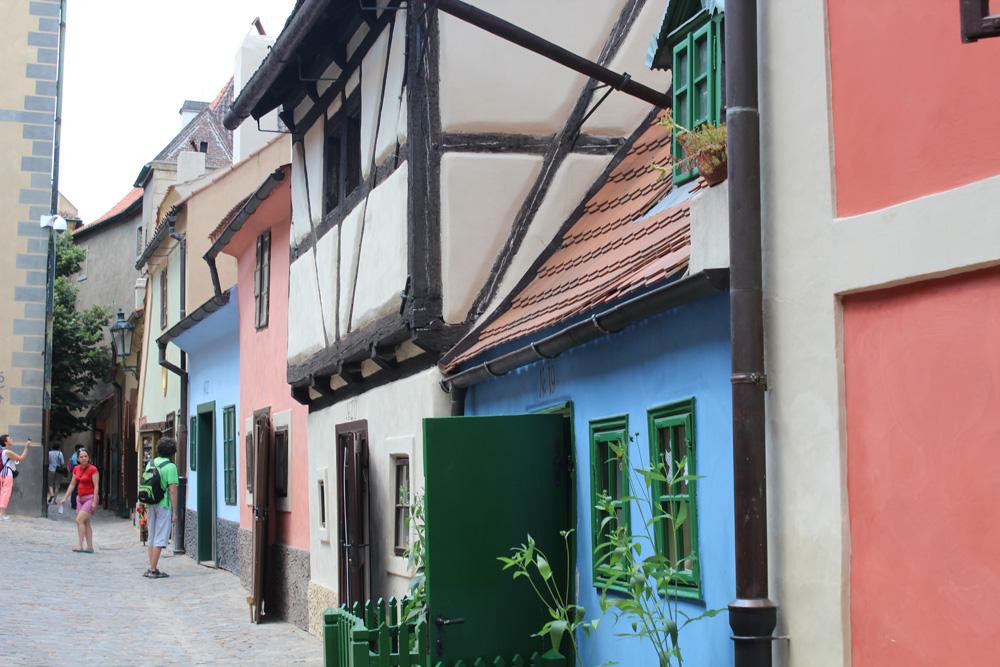 the golden lane houses