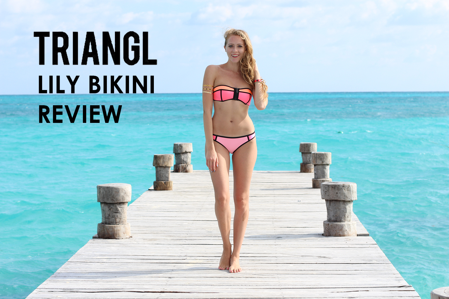 Triangl Lily Strawberry Kiss Review
