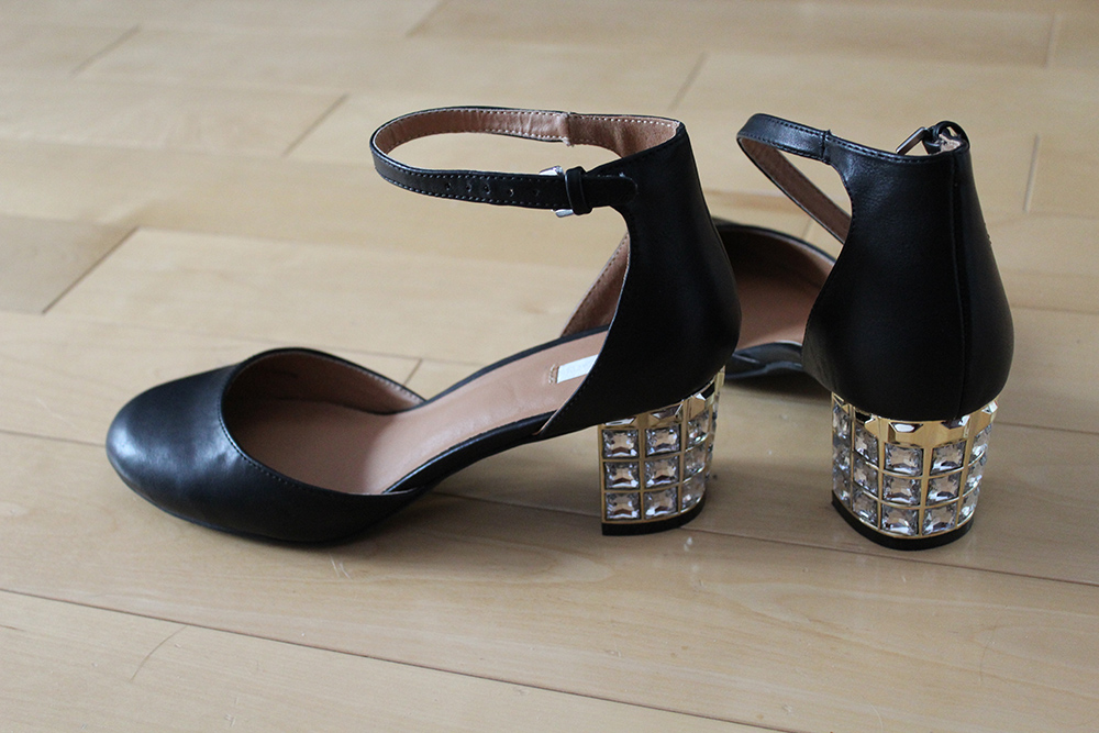 urban outfitters glitter heels