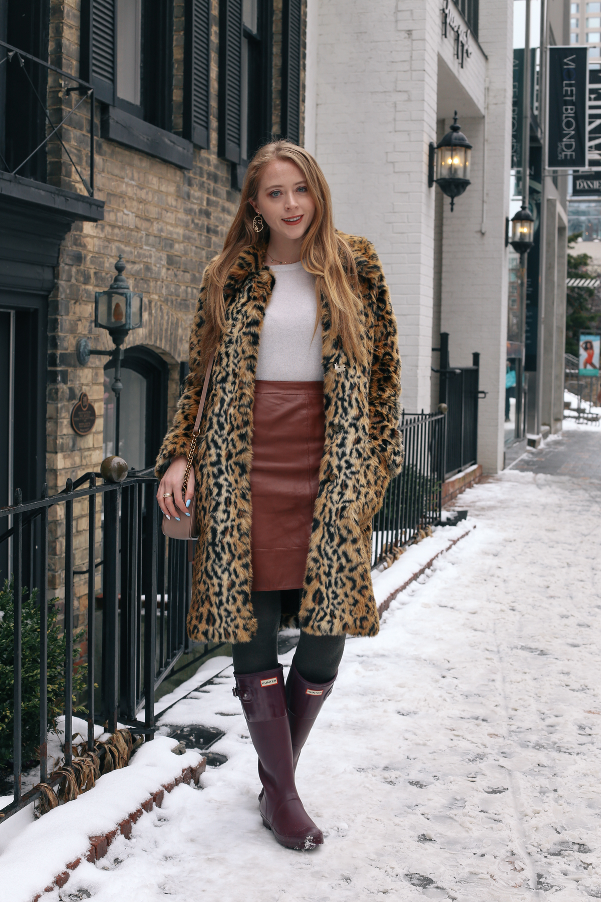 leopard and hunter boots (1 of 8)