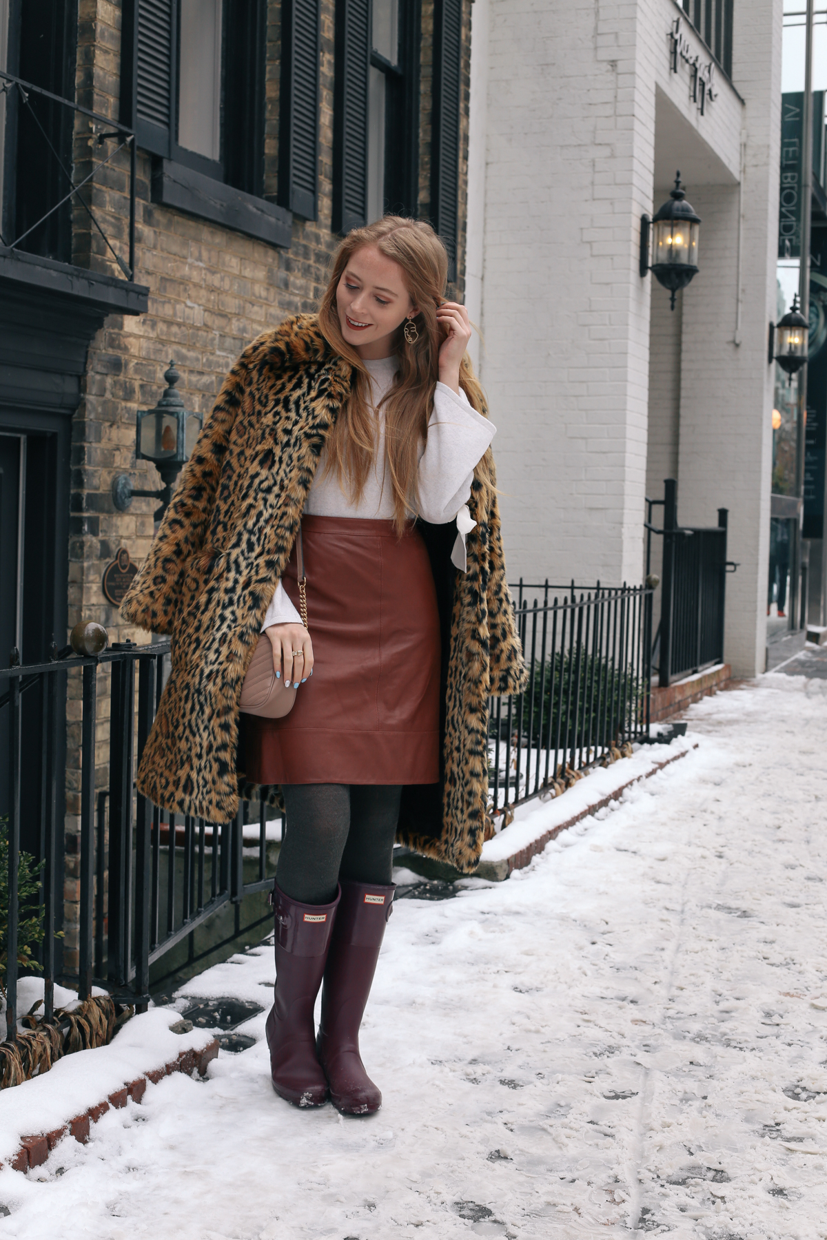leopard and hunter boots (2 of 8)